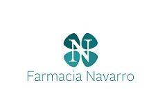 logotipo farmacia navarro