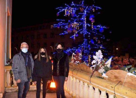 Acto de encendido de iluminación navideña Ejea de los Caballeros